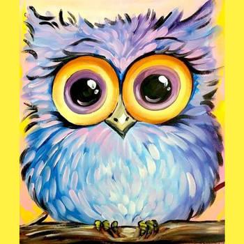 Мастер-класс по рисованию для самых юных художников (6+). Картина на выбор! ...